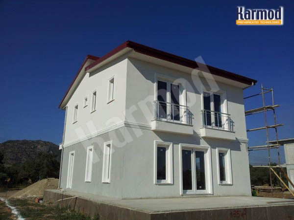 prefabricated villas europe