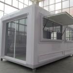 Prefabricated kiosk commercial