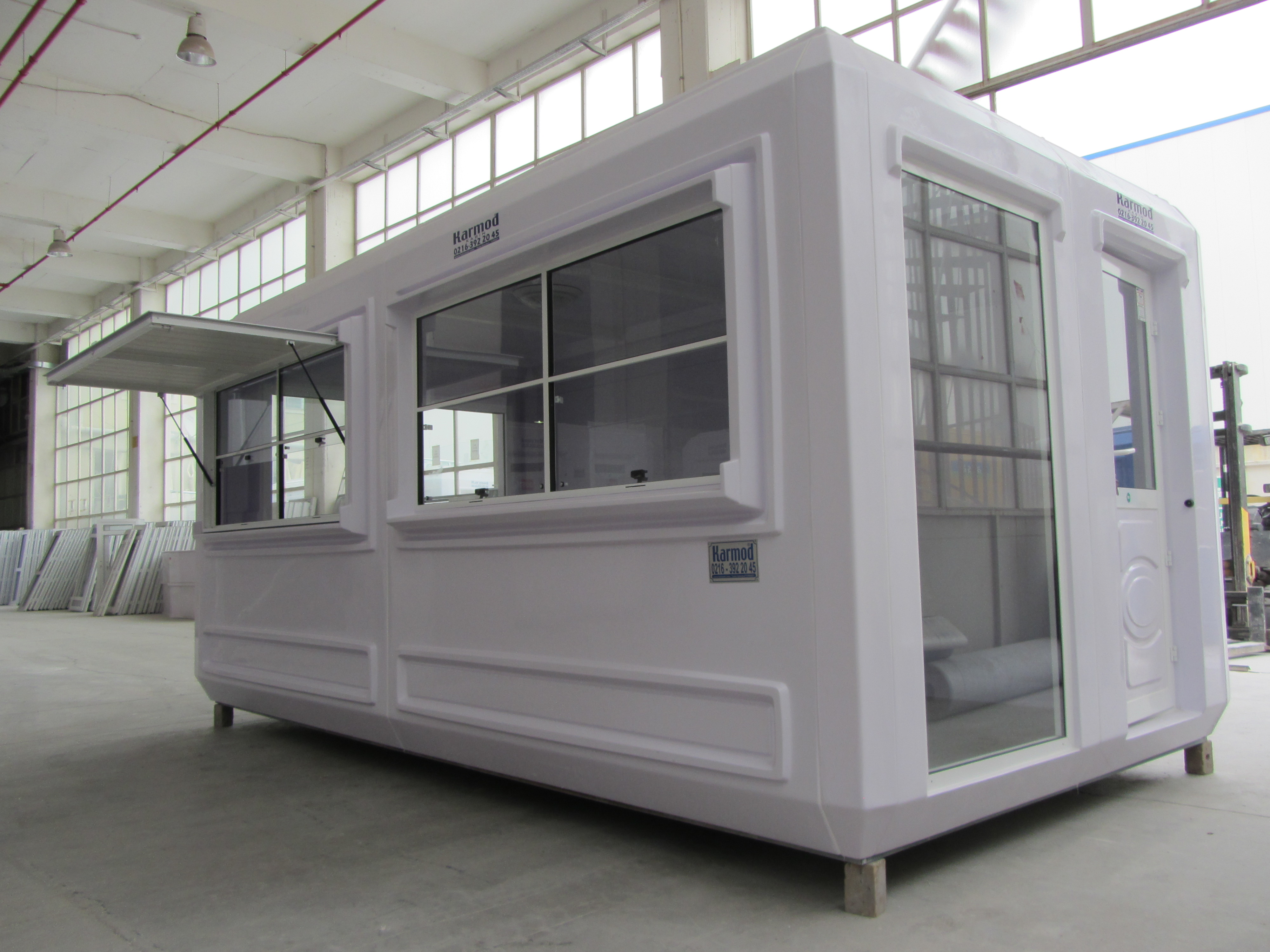 Prefabricated kiosk for food, Prefab kiosks - Karmod | Karmod