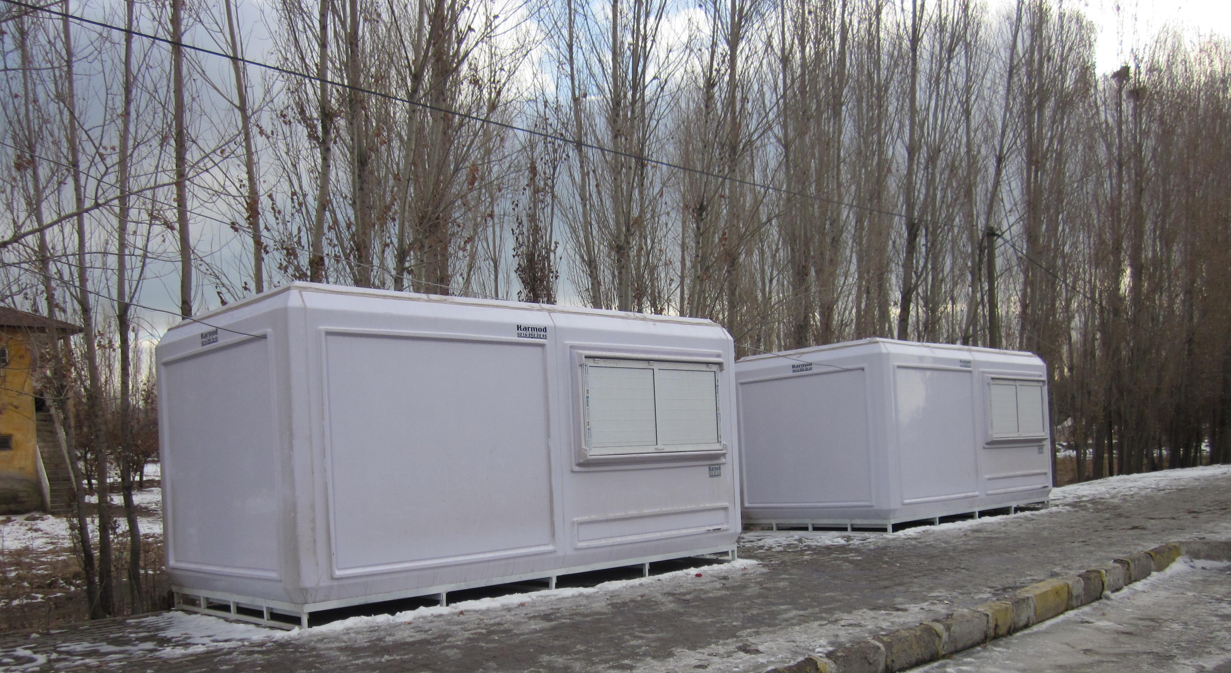 prefabricated kiosks