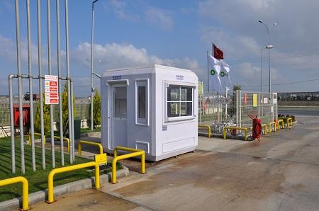 Frp Portable Security Cabin Modular Office Cabins