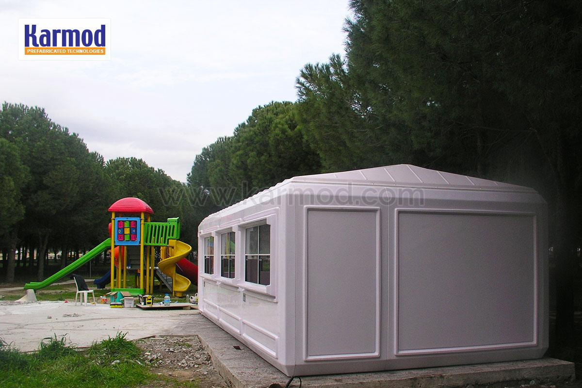 Large and Small Portable Cabins, Karmod