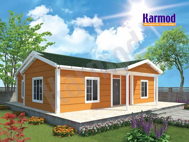 Prefabricated modular house iraq