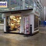 price of solar modular kiosk