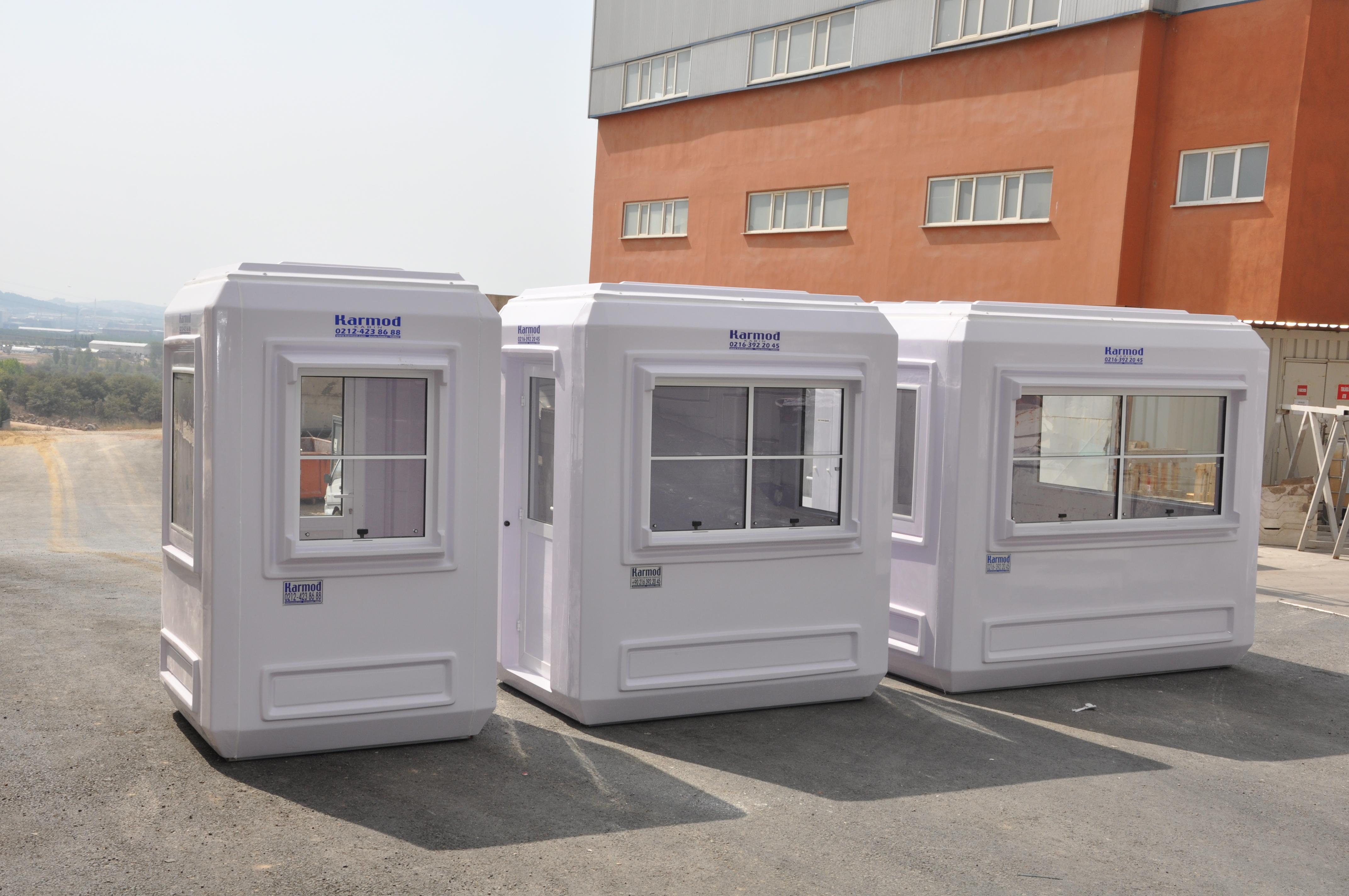 Guaritas de fibra Blindagem de Guarita Karmod Turquia Karmod #824530 4288x2848 Banheiro De Fibra De Vidro