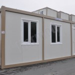 flat pack cube buildings Syrian