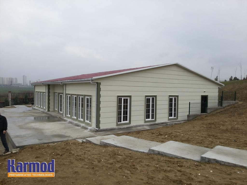 prefab residential steel homes