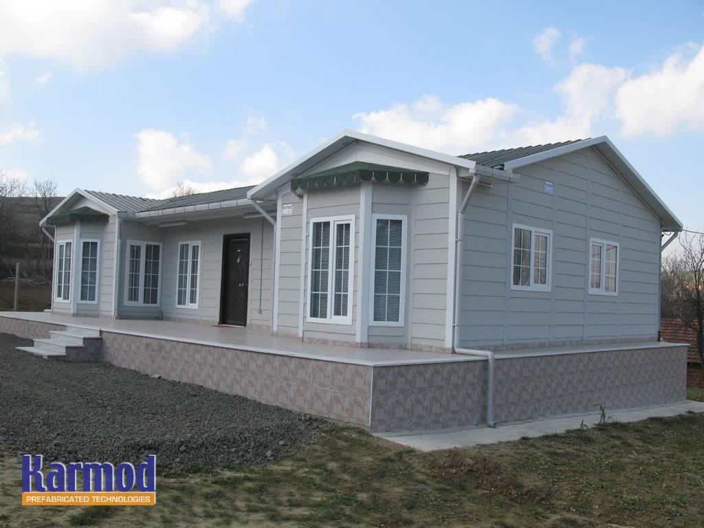 prefabricated residential steel houses