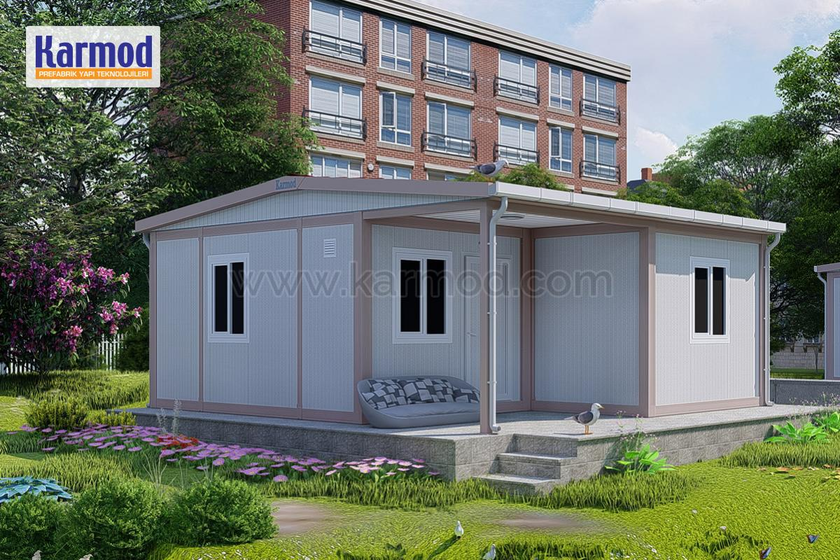 Karmod Combined Sandwich Panel Containers with Superior Features
