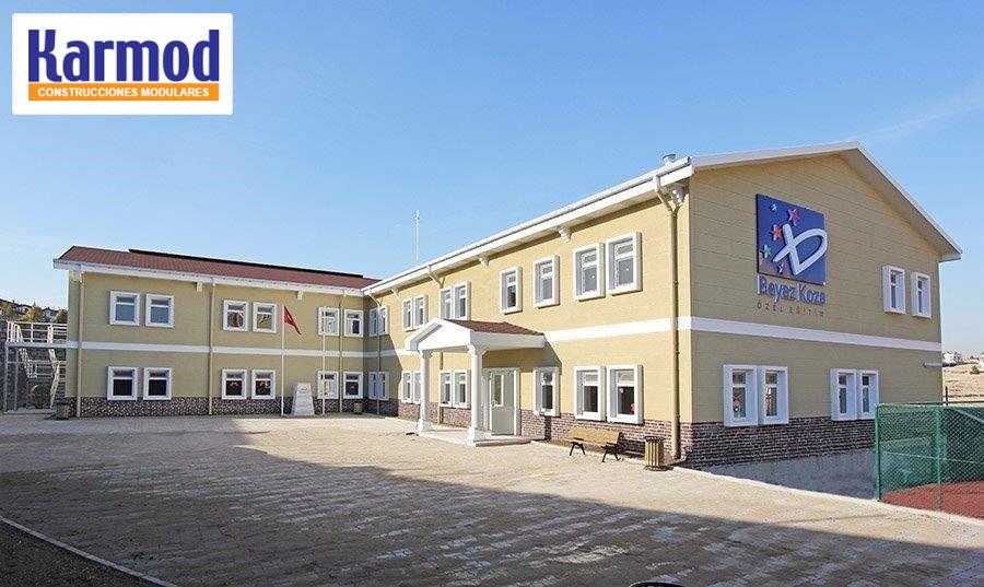 kurdistan iraq prefabricated schools