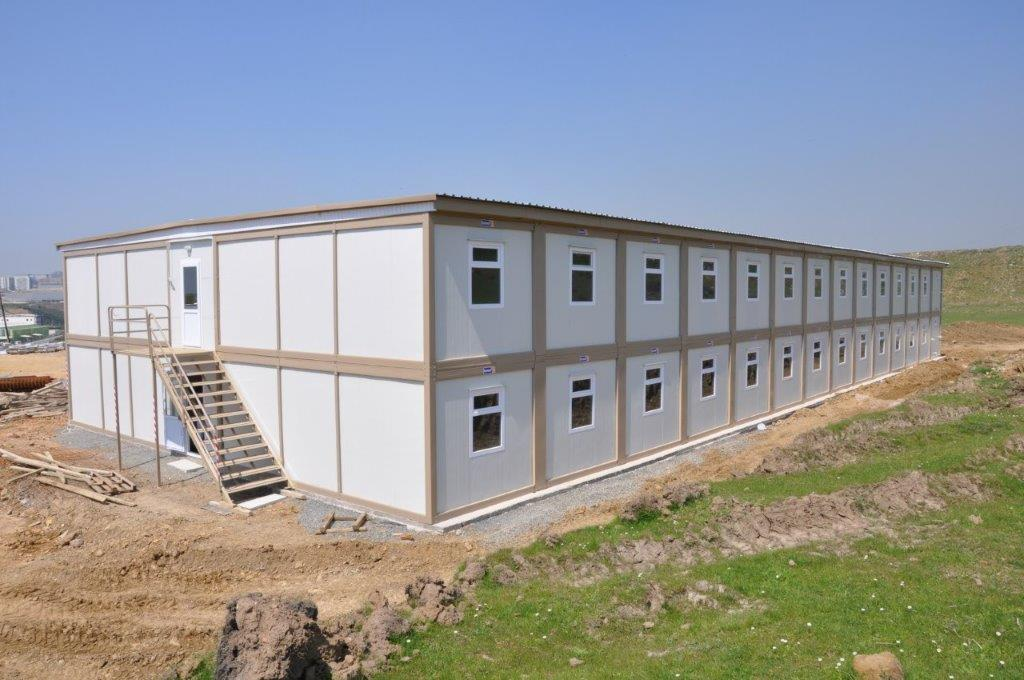 We have exported Karmod products to south sudan container construction