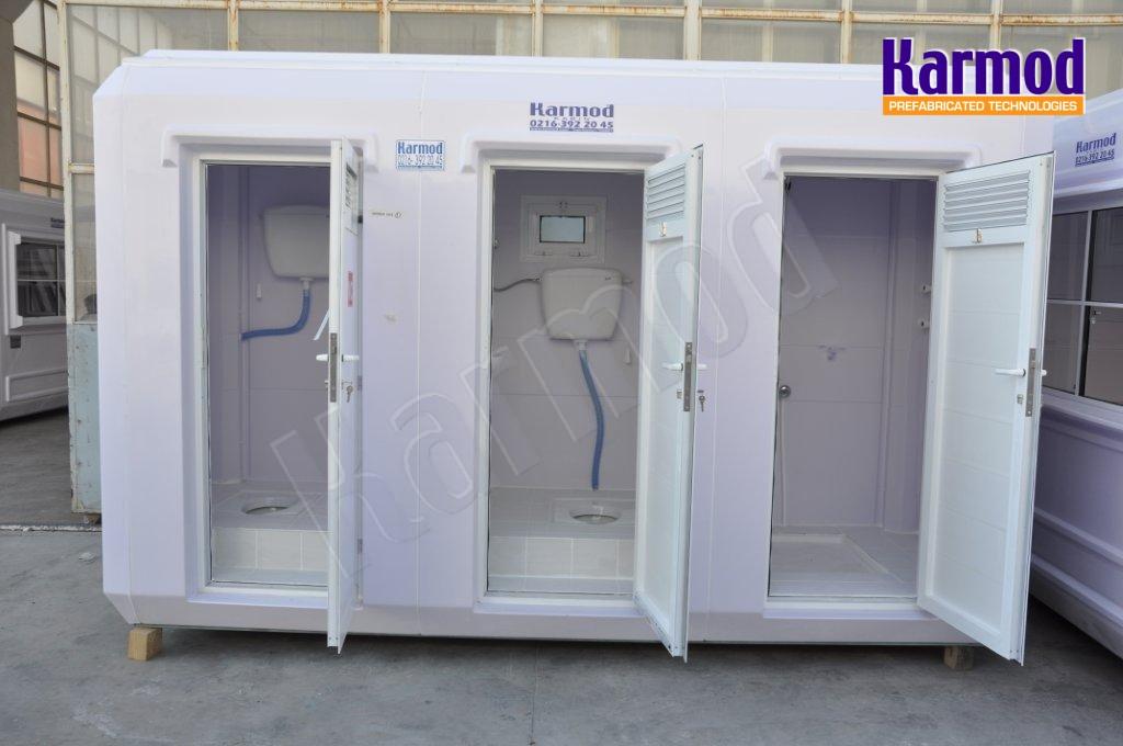 Μεταφερόμενες πολυεστερικές τουαλέτες