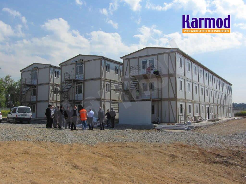 construction site sheds