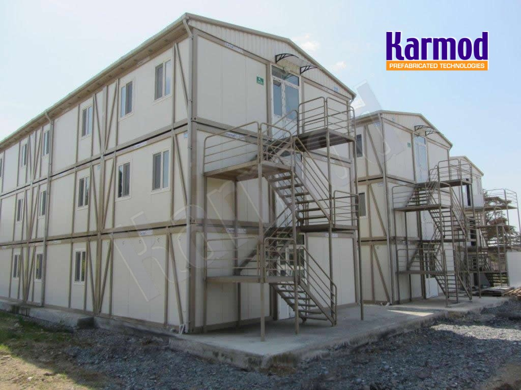 portable building construction
