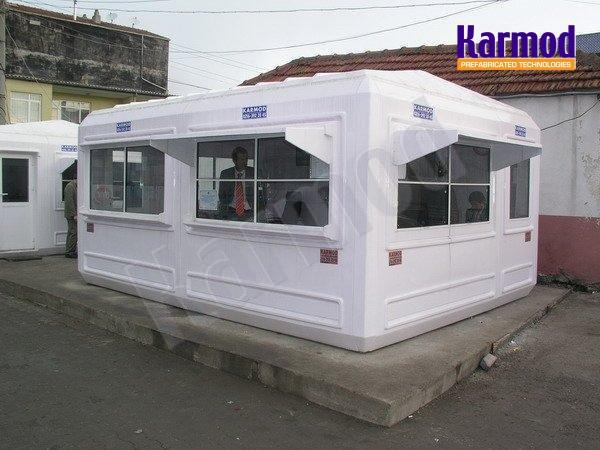 Prefabricated Fiberglass Building