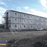 container mining camp africa