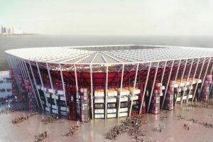 qatar stadium containers