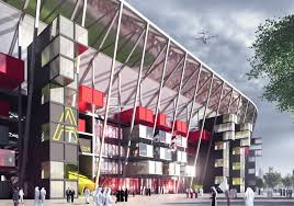 Qatar World Cup Stadium Containers