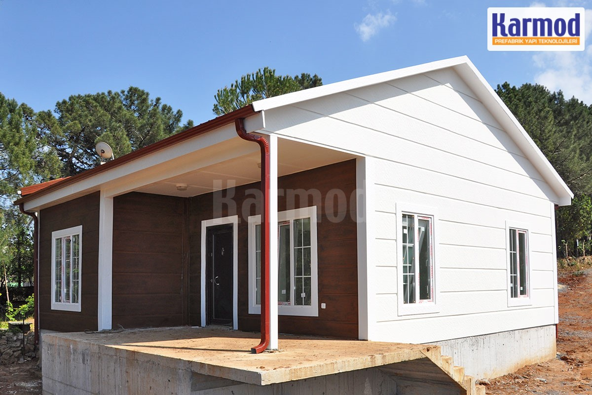 Affordable Prefab House Prefabricated Buildings Karmod