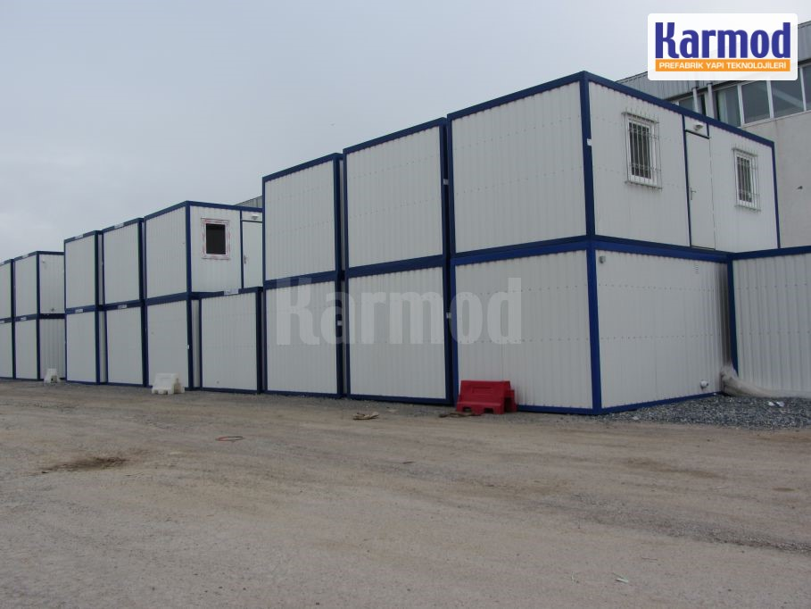 mobile container demountable