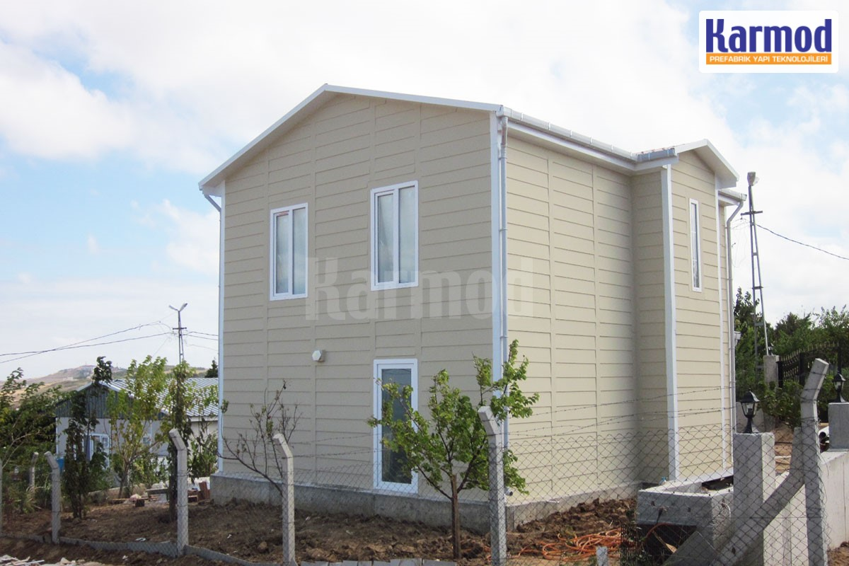 prefabricated houses africa