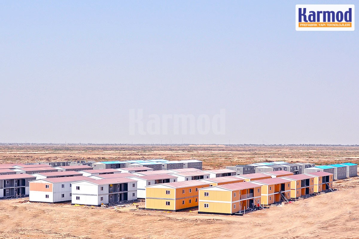 prefabricated social housing