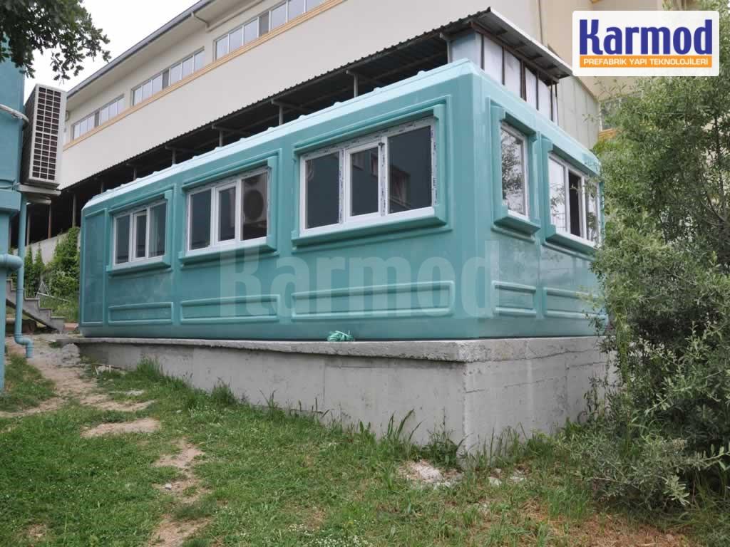 site cabins