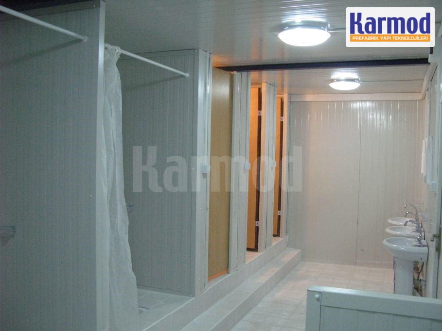 wc container demountable