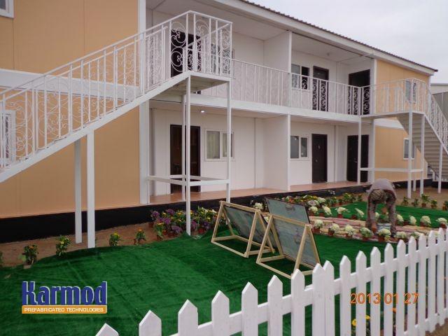 Prefabricated houses Africa