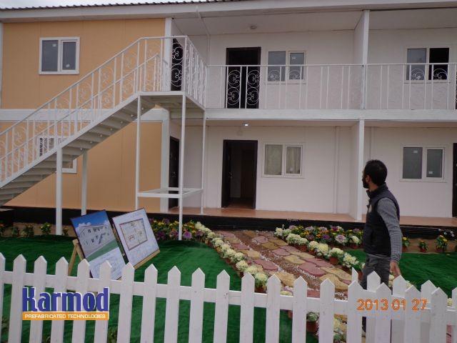 prefabricated building Africa