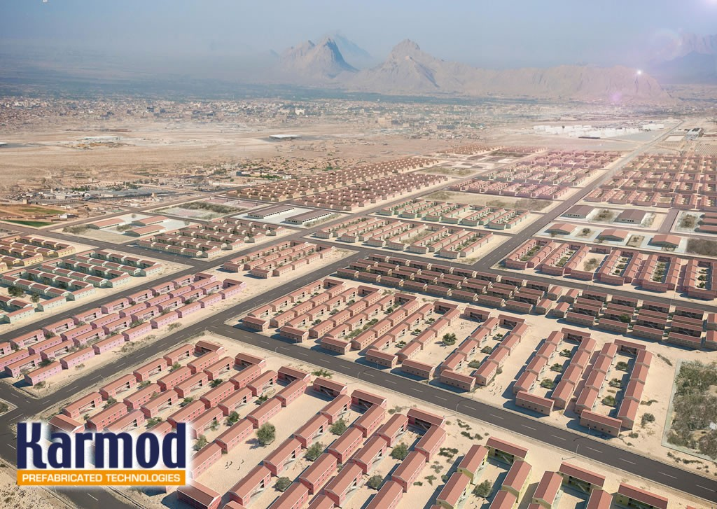 Affordable Prefab housing Africa