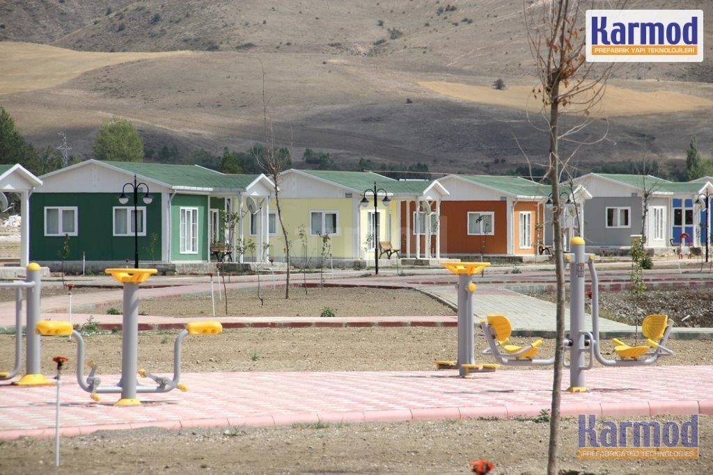 mass social housing projects