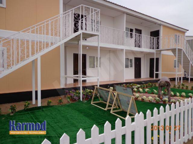 prefab social housing
