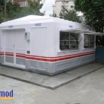 prefabricated gate houses