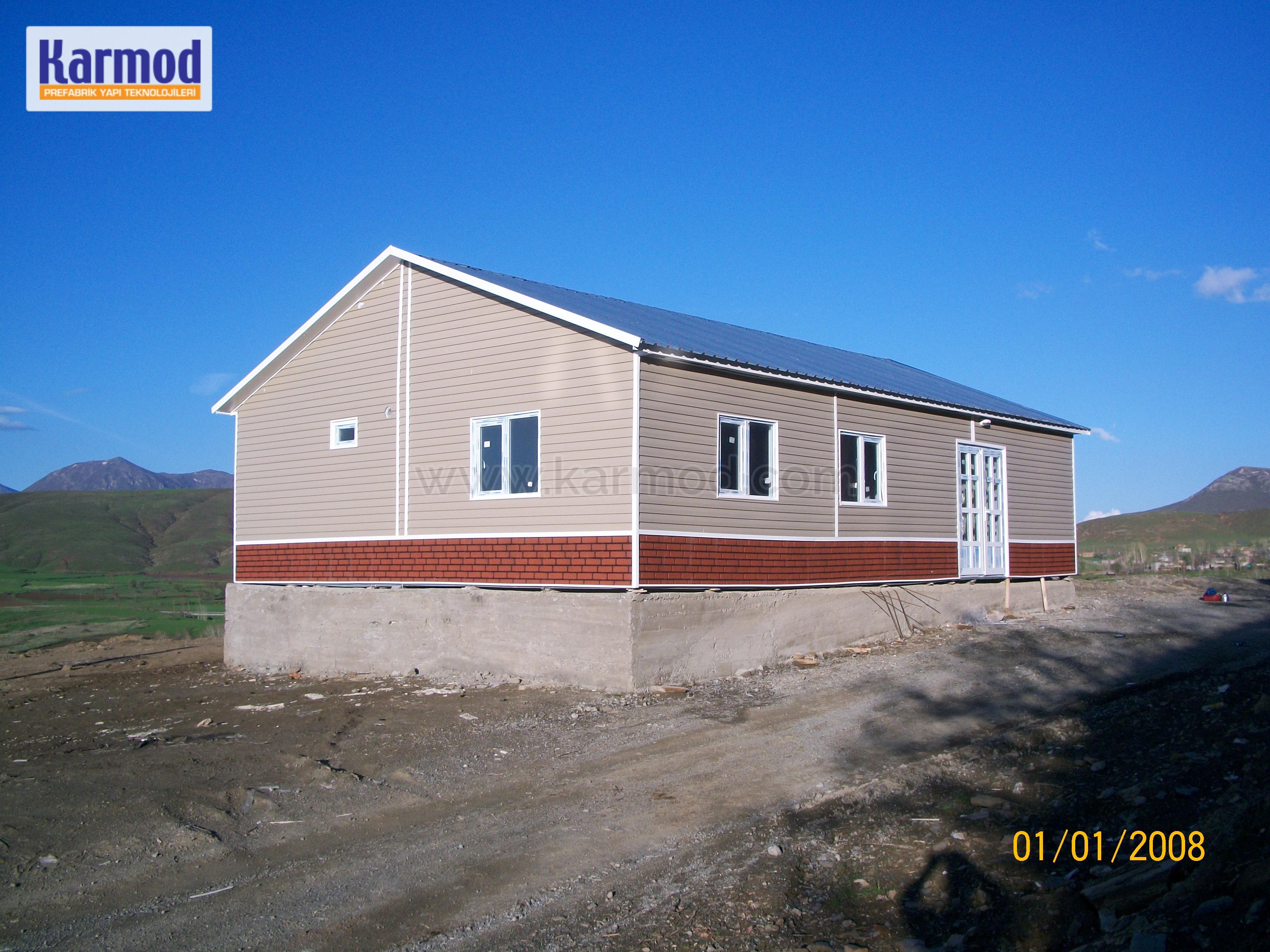 Prefabricated School Buildings