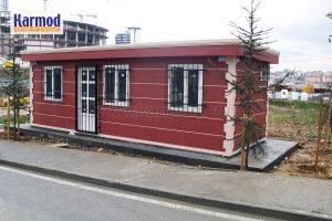 Prefabricated guard buildings