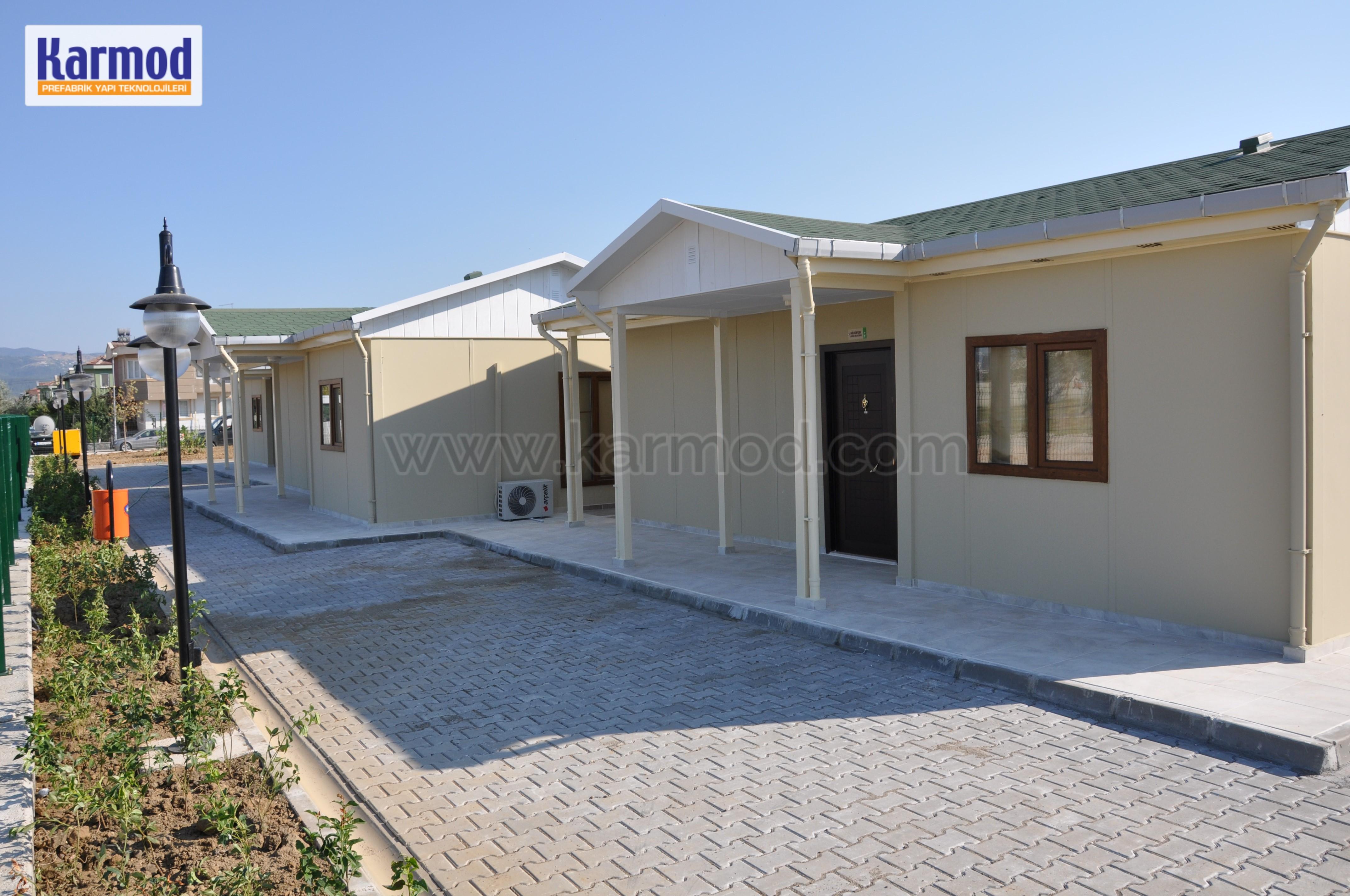 building prefab house zambia