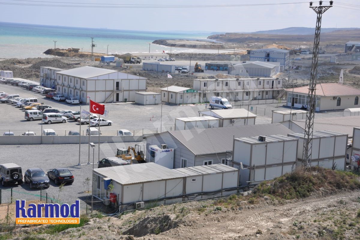 camp accommodation complex