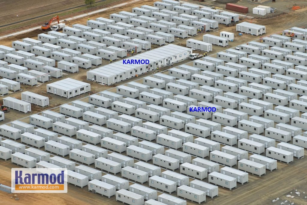 caravan prefabricated houses