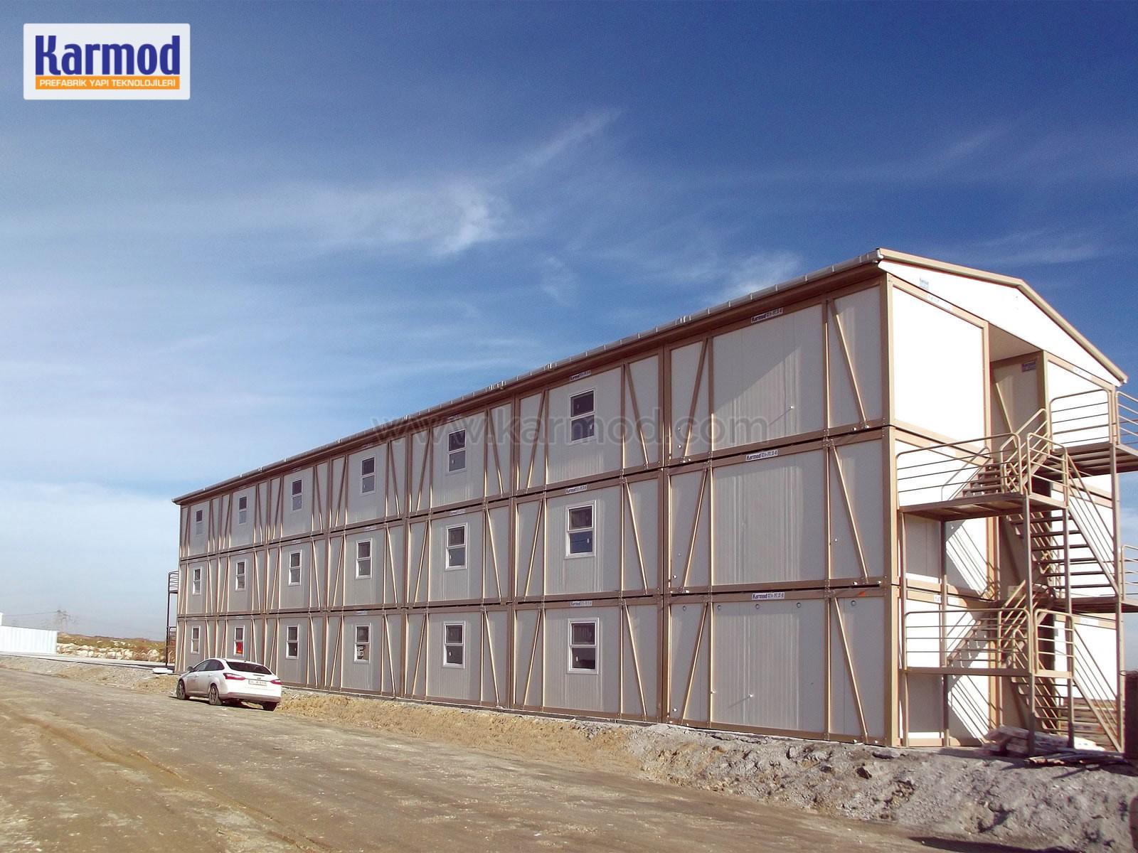 construction site office caravan