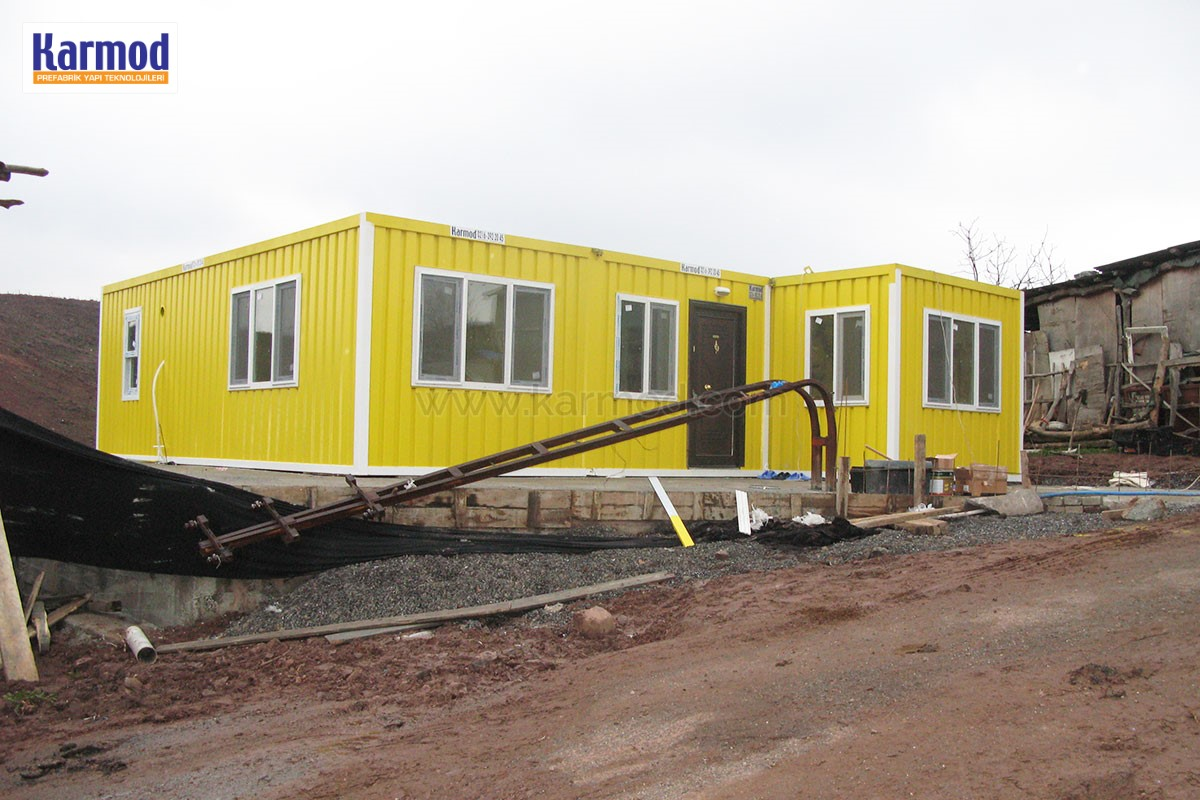 Container House for Labor Camp