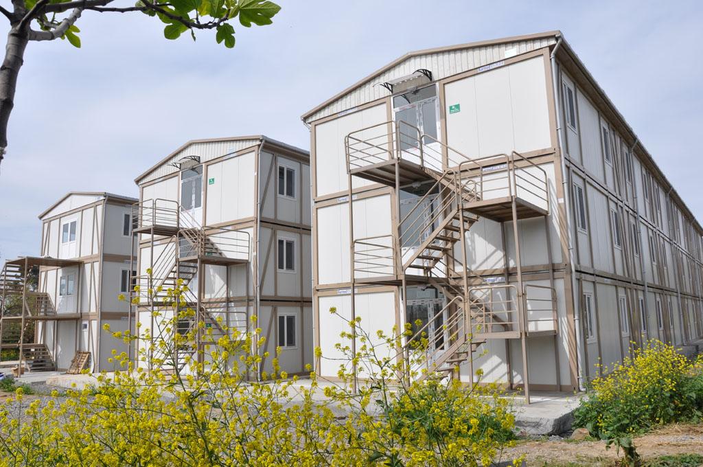 prefabricated building uganda