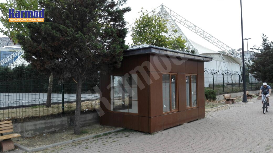 Guard shack