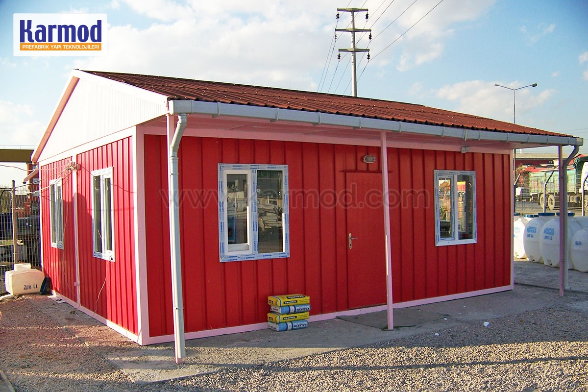 Low cost Prefab housing Namibia