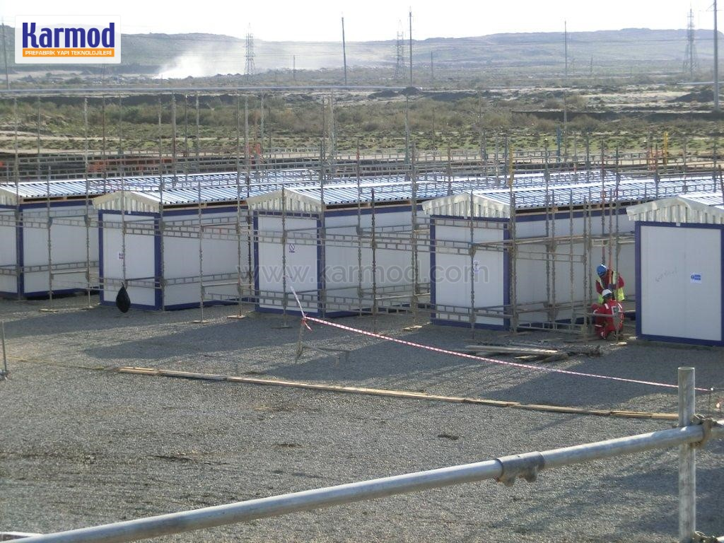 mining container camps