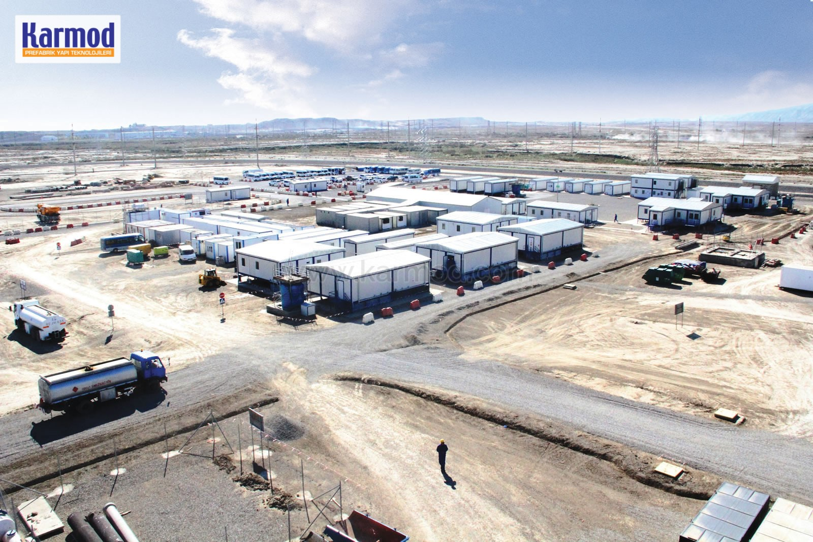Modular Containerized camps