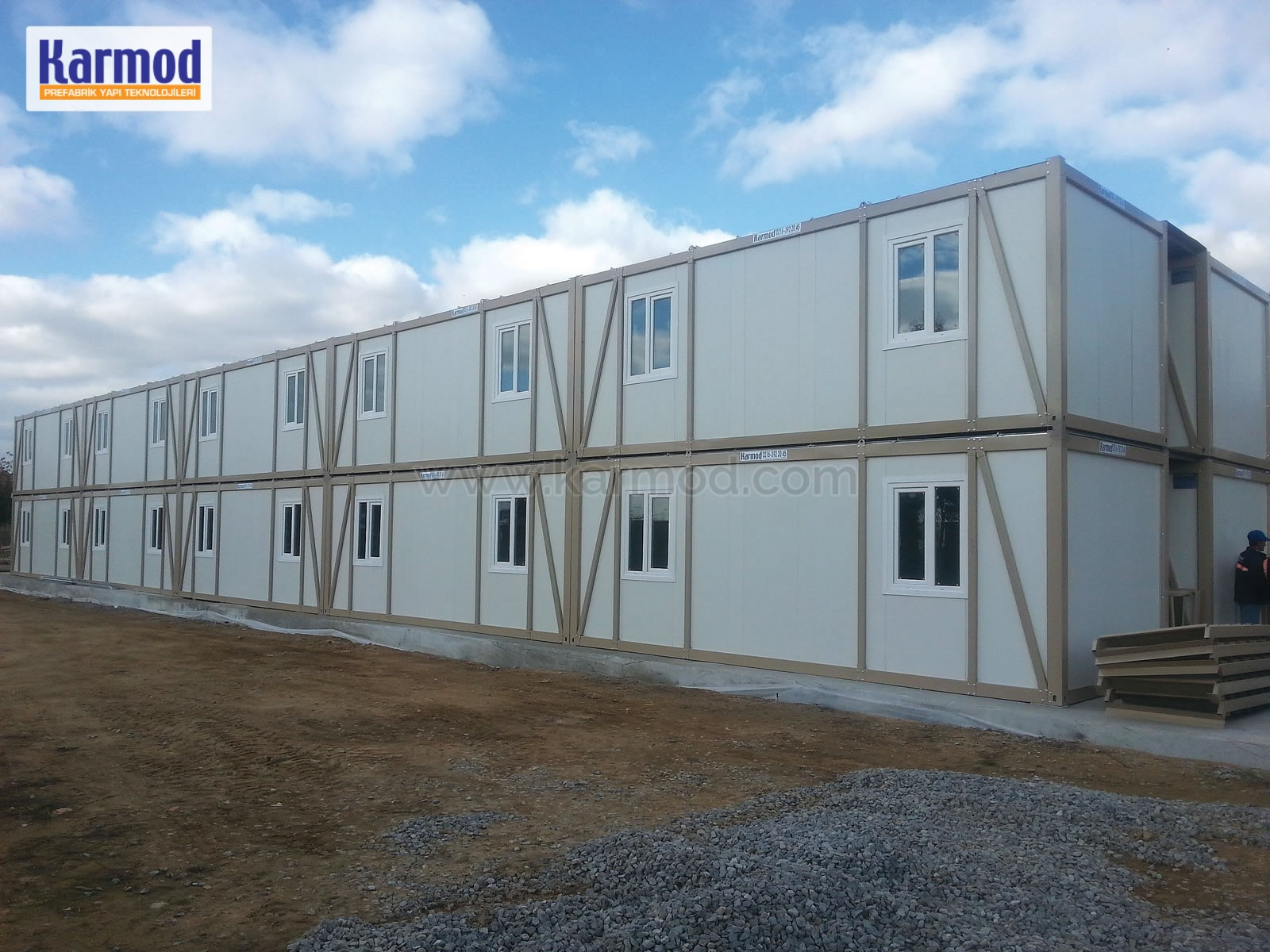 Modular Labor Staff Worker Dormitory