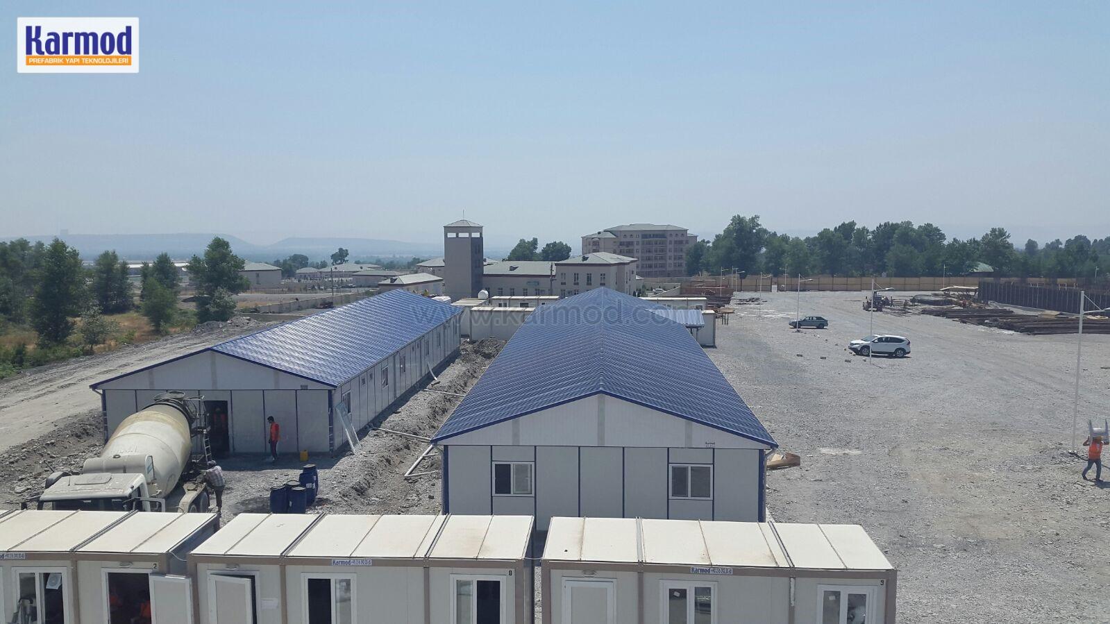 modular mining camp