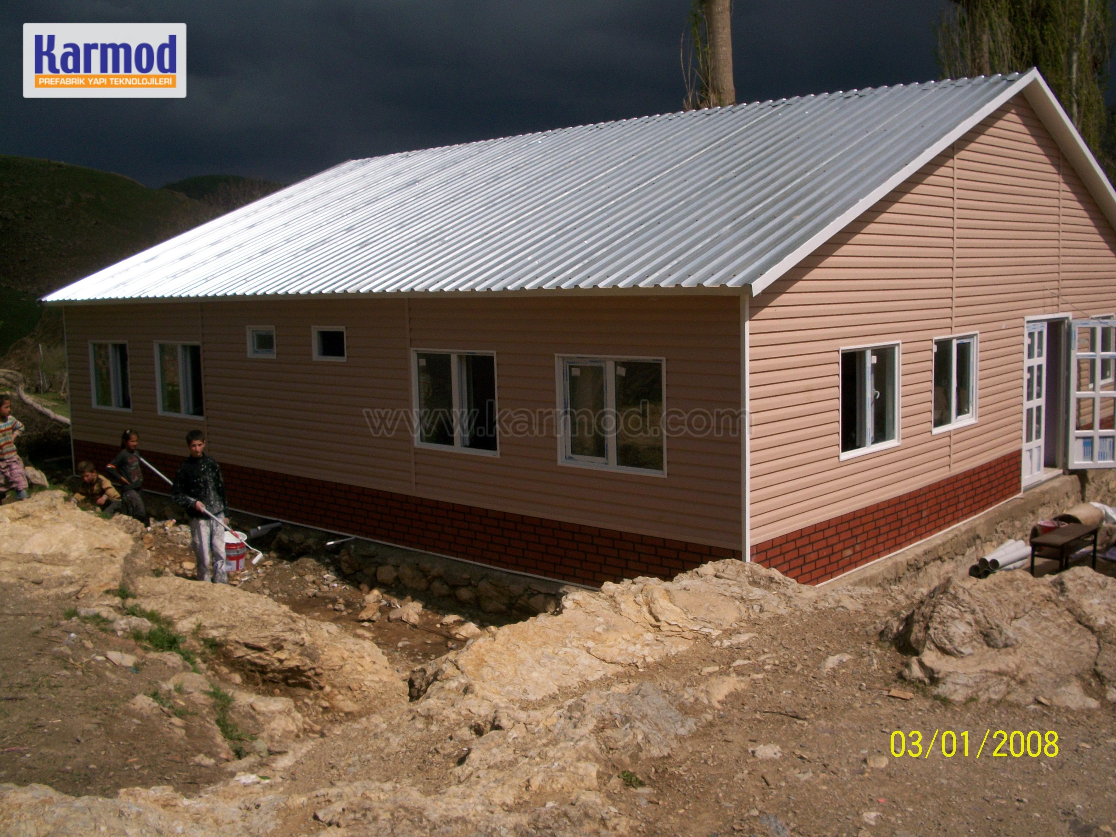 modular school construction