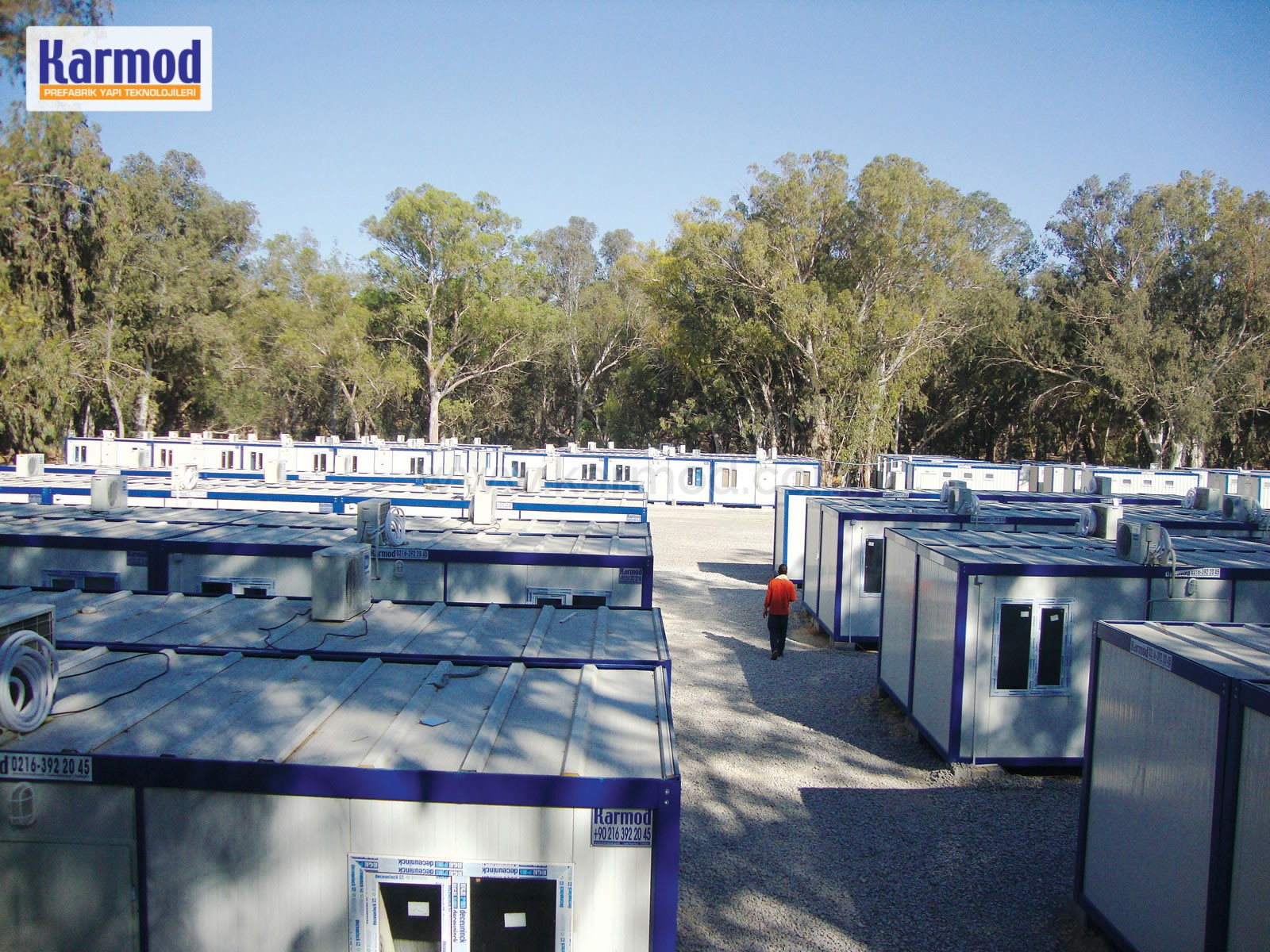 Oilfield Containerized camps